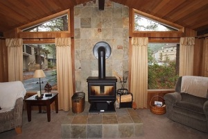 Fireplace Remodel in Sunriver, OR - After
