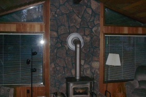 Fireplace Remodel in Sunriver, OR - Before