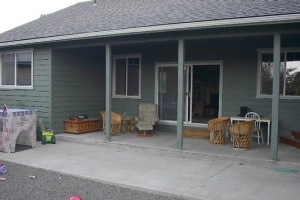 Porch Enclosure in Bend, OR - Before