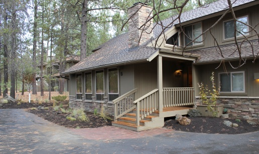 Exterior Makeover in Sunriver, OR