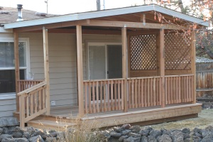 Covered Deck in Crooked River Ranch - After