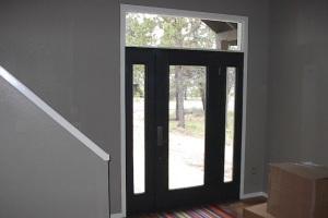 Front Door Remodel in Sunriver, Oregon