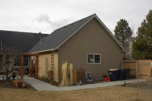 Garage Addition in Bend, OR - Before