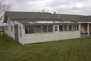 Sunroom Addition in Powell Butte, OR - Before