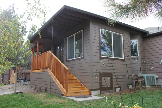 Sunroom addition built on house in Bend, OR