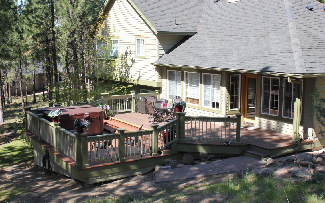 Deck Extension in Bend OR