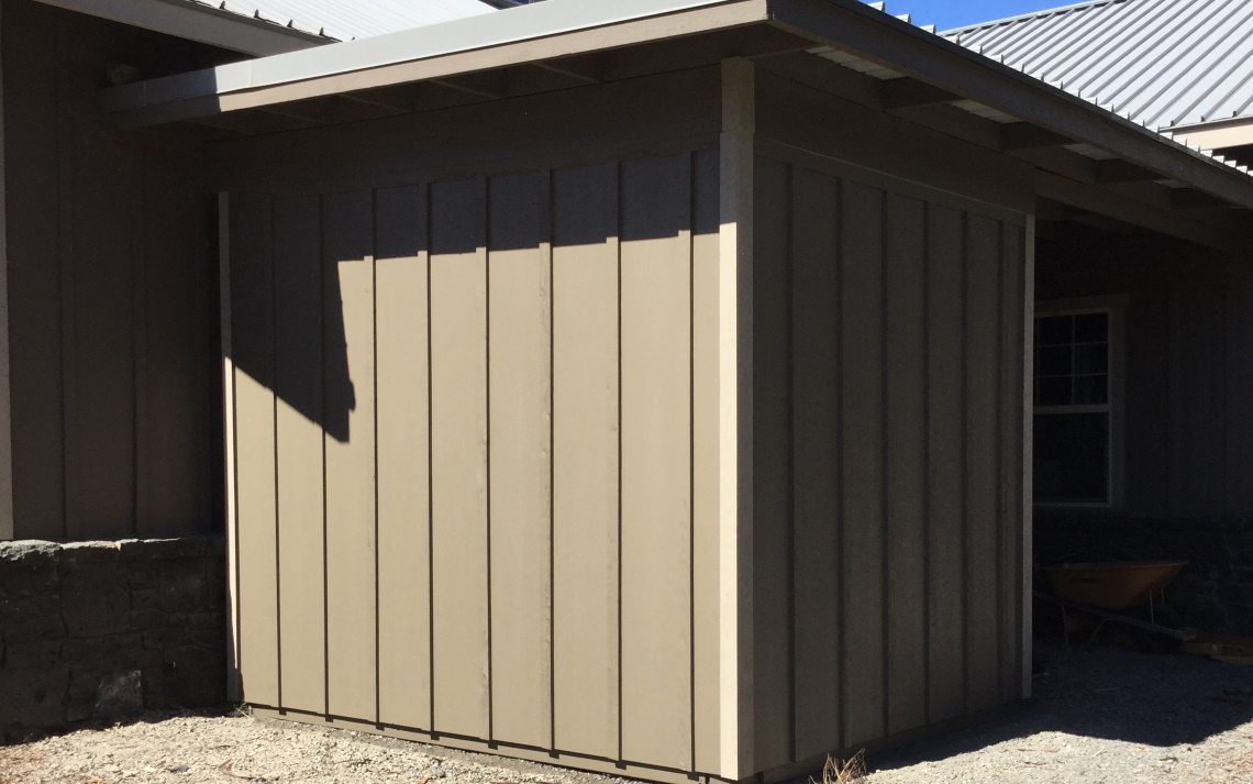 New Shed Built in Bend OR