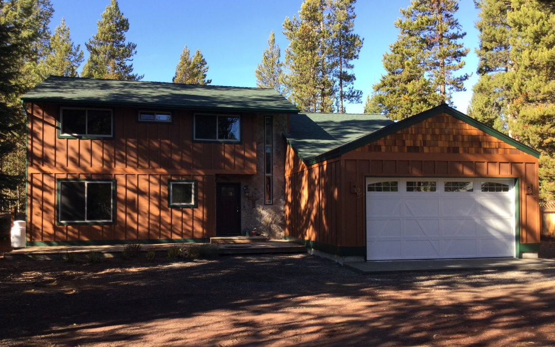 sGarage Built in Sunriver OR