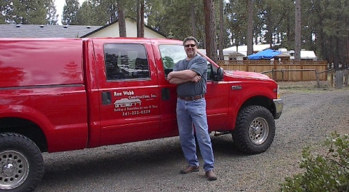 Ron Webb is a contractor in Bend OR
